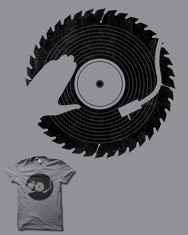 That DJ sure can cut! by biotwist on Threadless