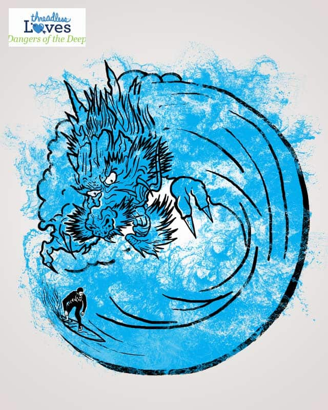 Dragon Waves by robbyiodized on Threadless