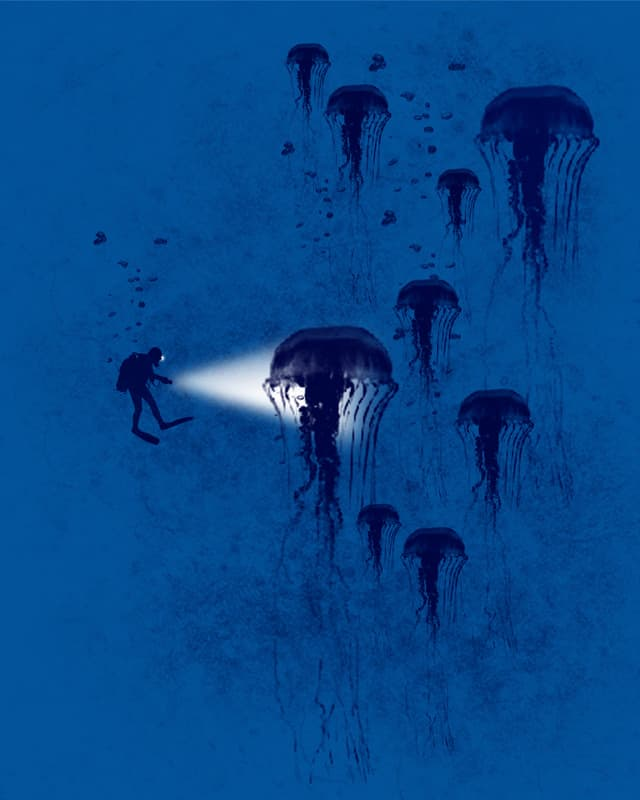 Diving in the deep by bandy on Threadless