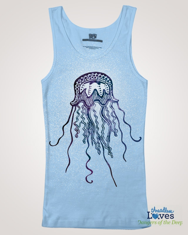 Jellyfish by crartdirector on Threadless