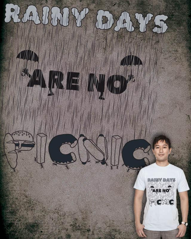Rainy days are no Picnic by soloyo on Threadless