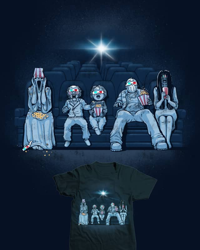 3D Horror Movie by dandingeroz on Threadless