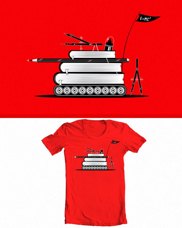 Knowledge is Your Weapon by nasty-nasty on Threadless