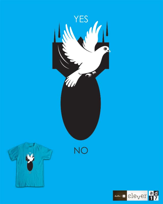 yes no by a.d.17 on Threadless
