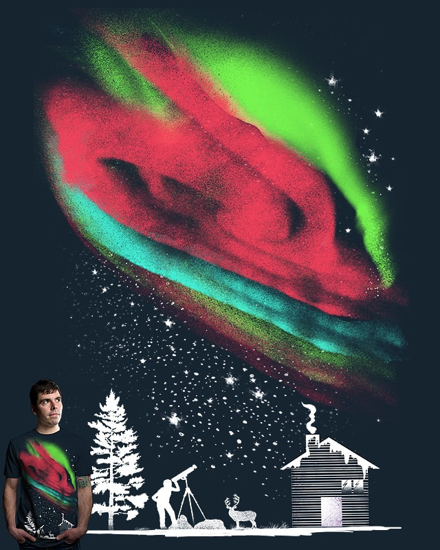 Seeing The Northern Lights by shesmatilda on Threadless