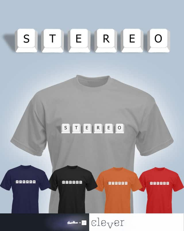 Stereo Type by macdoodle on Threadless