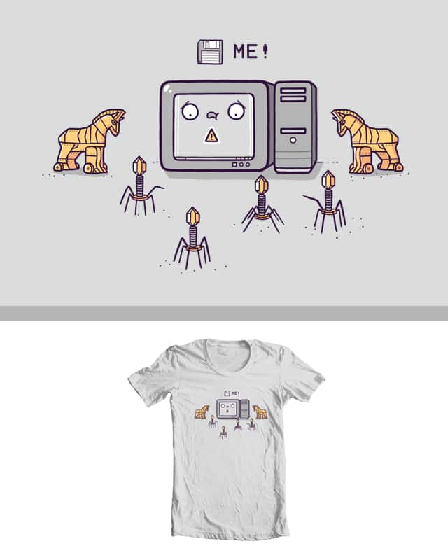 Save me! by randyotter3000 on Threadless