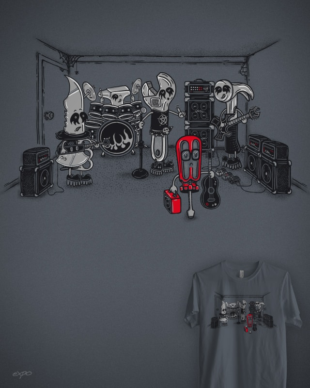 Metalheadz Only by expo on Threadless
