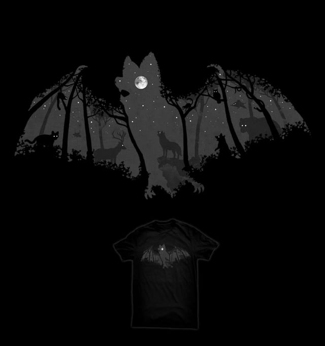 Midnight Bat by ben chen on Threadless
