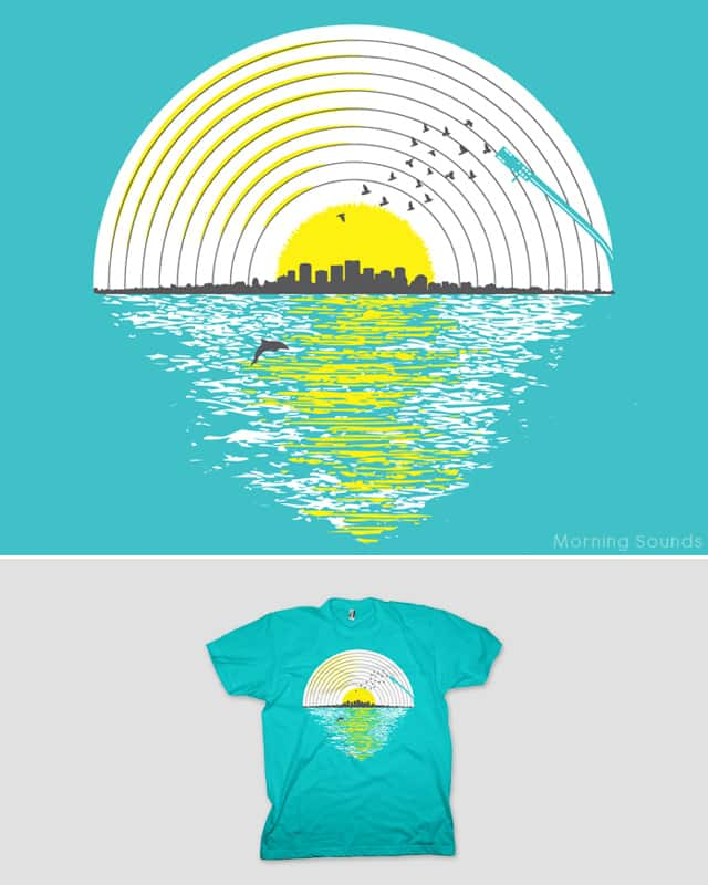 Morning Sounds by addu on Threadless