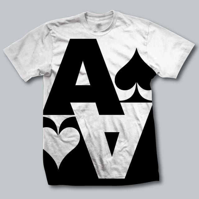 Ace of Spades by thatrobert on Threadless