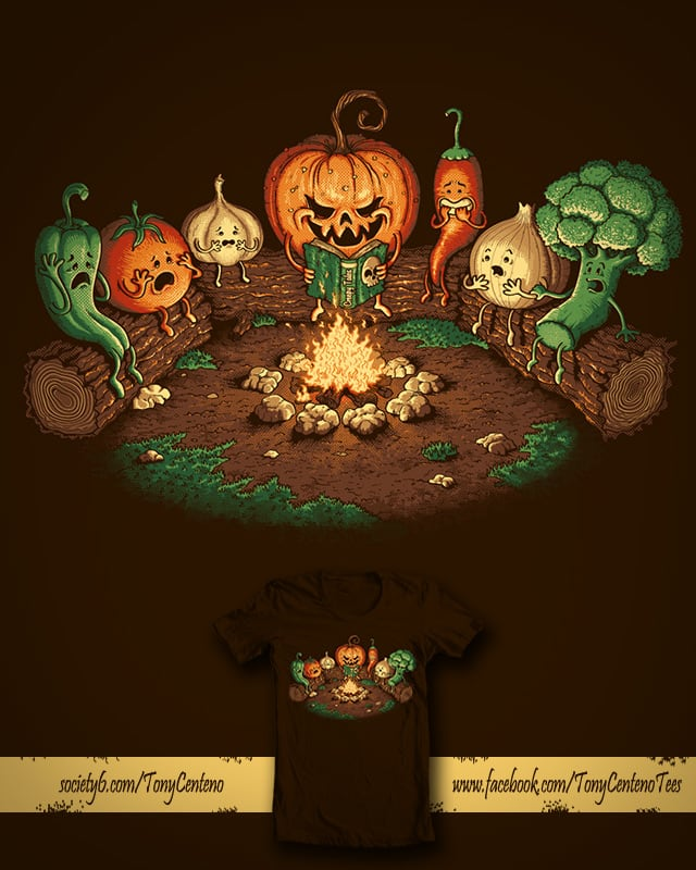 Halloween Tales by Tony Centeno on Threadless