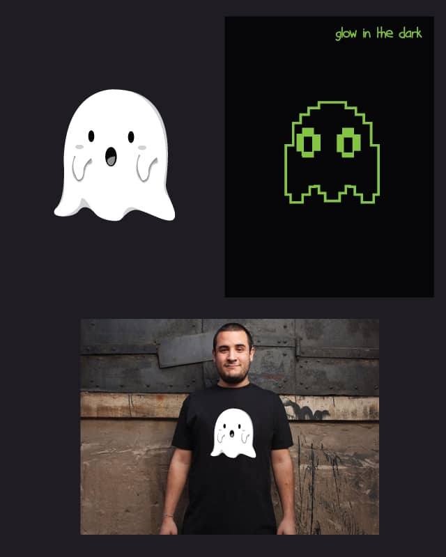 8 bit ghost by ndikol on Threadless