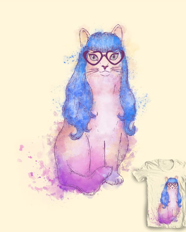 Katy the cat by sybillina on Threadless