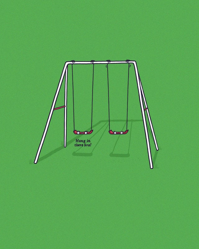 Hang in there by randyotter3000 on Threadless