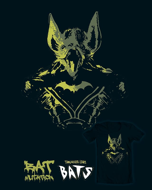 Batmutation by diegoverhagen on Threadless