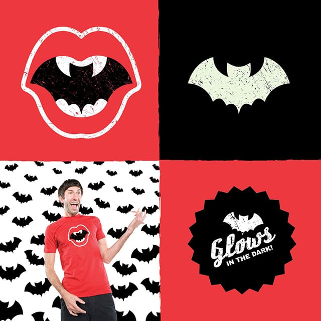 Fangs and Wings by germstodd on Threadless