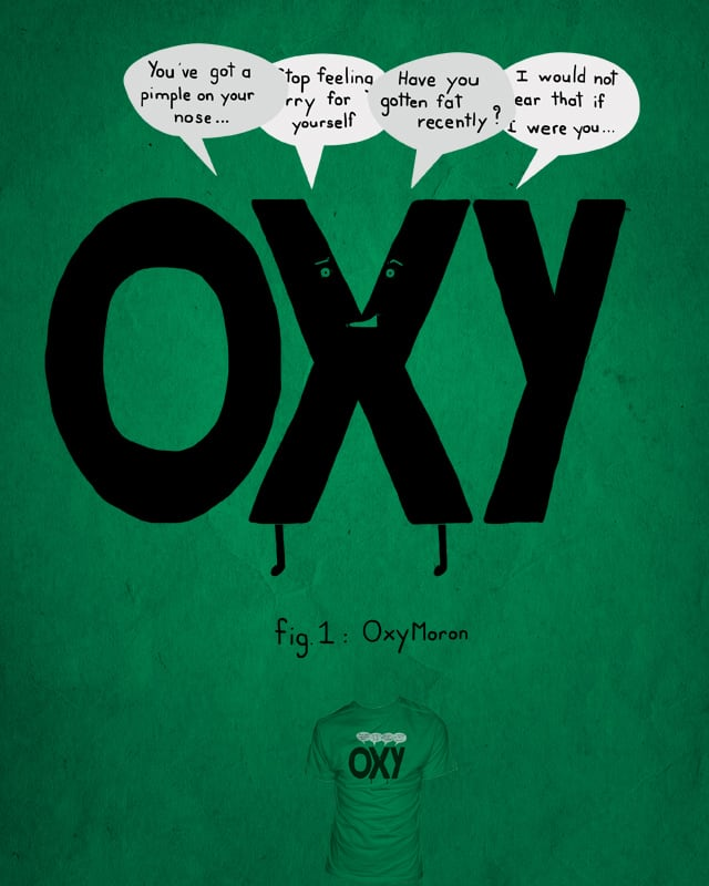 OxyMoron by Narutal on Threadless
