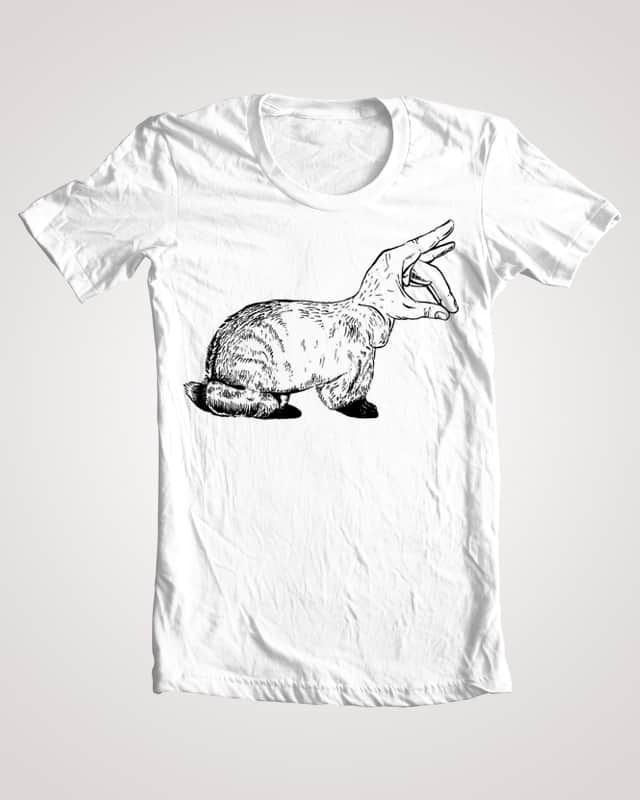 Rabbit by Antonio Carrau on Threadless