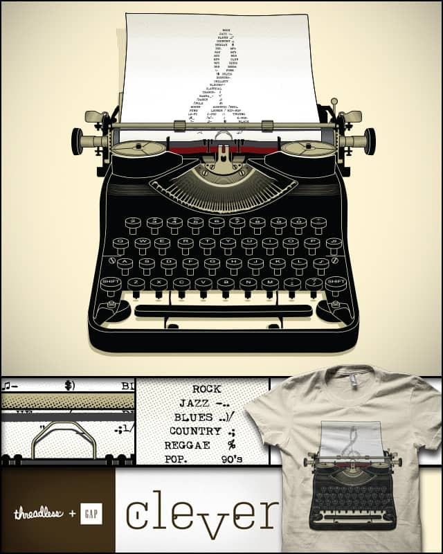 My Type of Music by yurilobo on Threadless