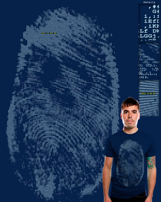 Fingerprinted! by cooljohnny on Threadless