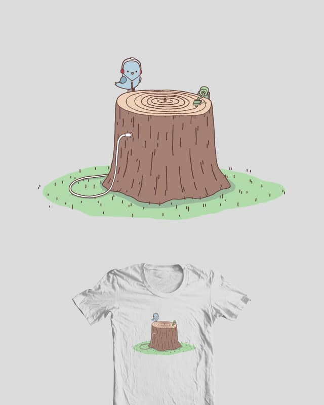 Sweet Sounds Of Nature by Haasbroek on Threadless