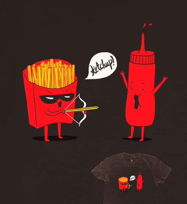Ketchup! by ilovedoodle on Threadless