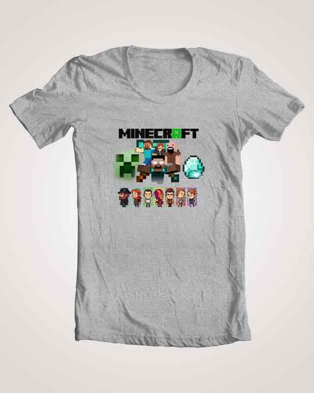 Minecraft in one Image by Atwal1 on Threadless
