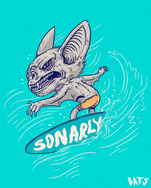 SONARly by alexmdc on Threadless