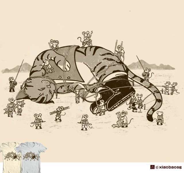 Capture on tiny island V2 by xiaobaosg on Threadless