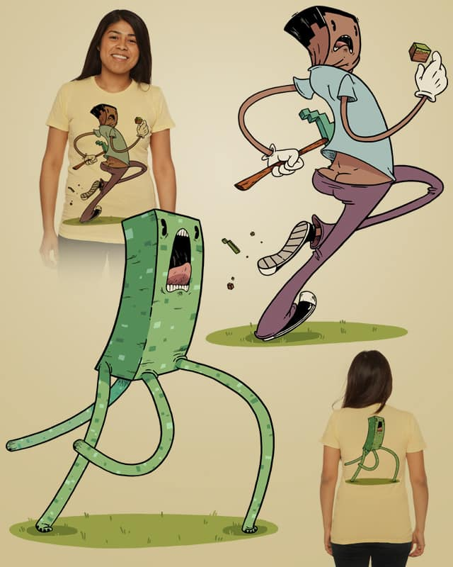 The Chase by TheMonsterFat on Threadless