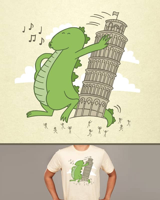 How the tower came to be by CHUCKY SA on Threadless