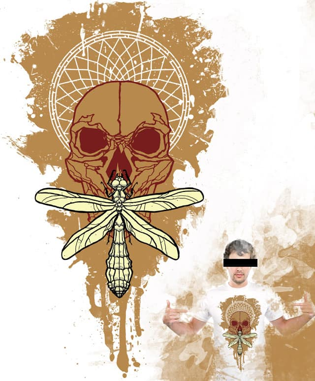 golden silence by mikasuka on Threadless