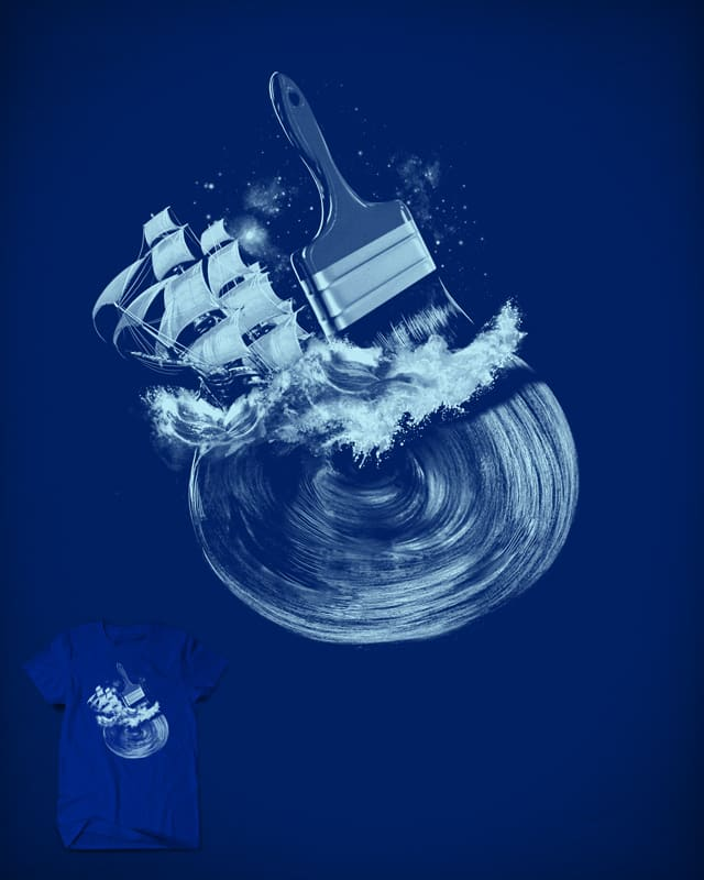 Blue Stroke by anivini on Threadless