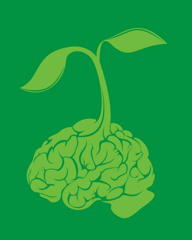 think green by kids catch on Threadless