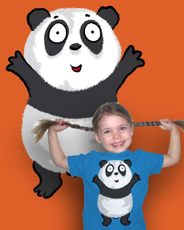 Panda Hug by JonBurgessDesign on Threadless