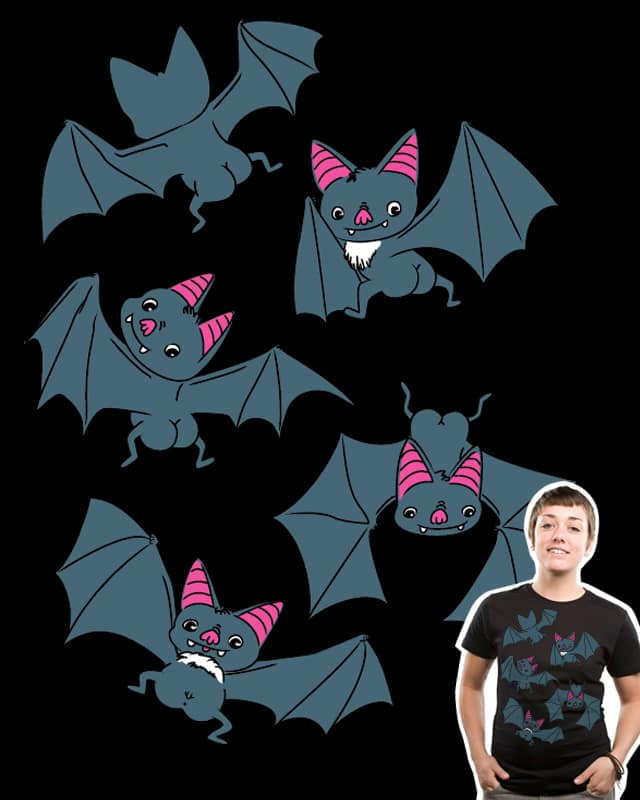 Bat Butts!! by ivejustquitsmoking on Threadless