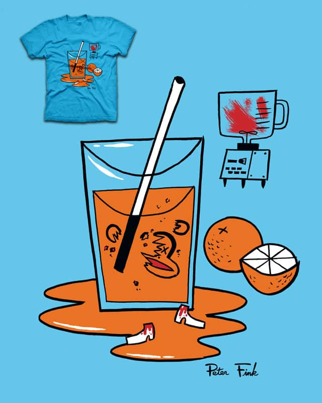 Peter Fink Is Not Your Friend by zackOlantern on Threadless