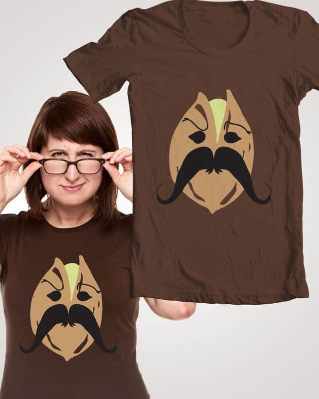 Mustachio? by SlyPigDesigns on Threadless