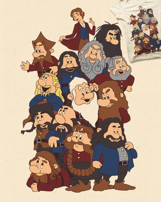 And The Thirteen Dwarfs by the Sleeping Sky on Threadless