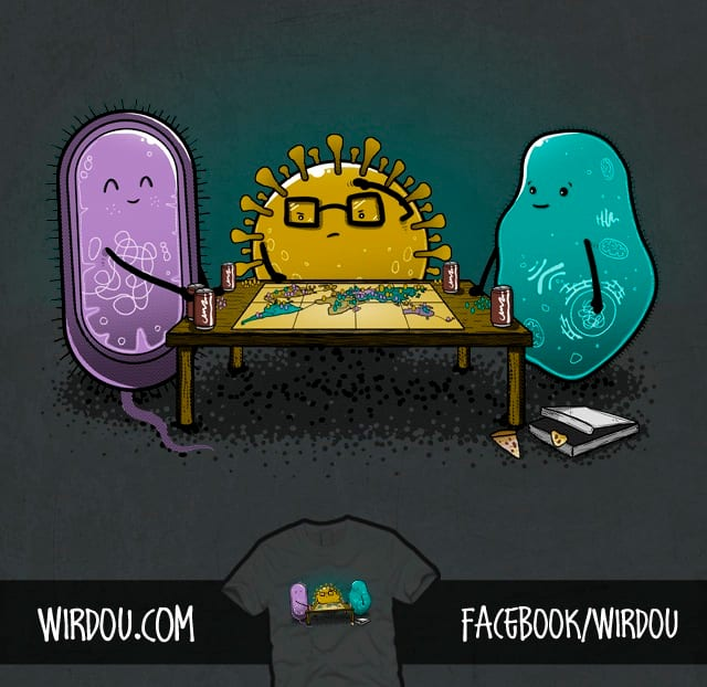 Pandemic RISK by Wirdou on Threadless