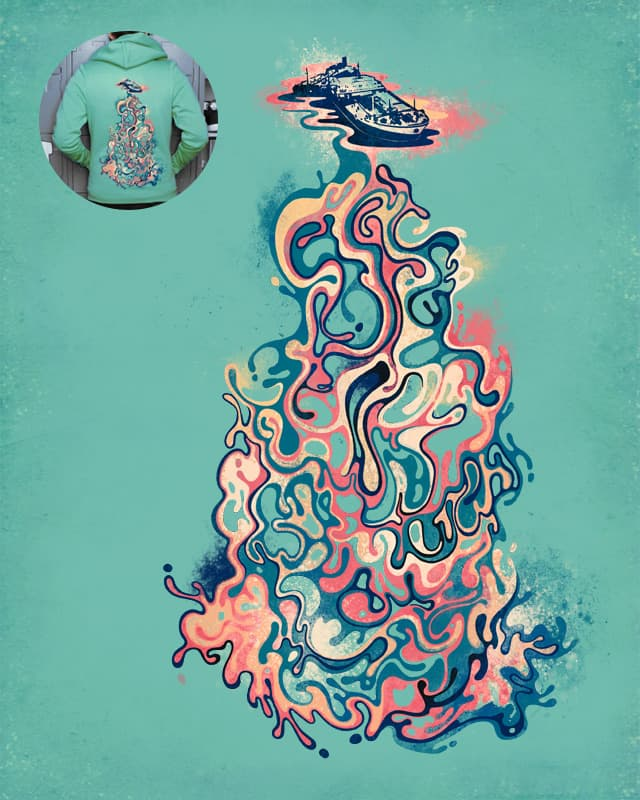 Oil Spill by ignzed on Threadless