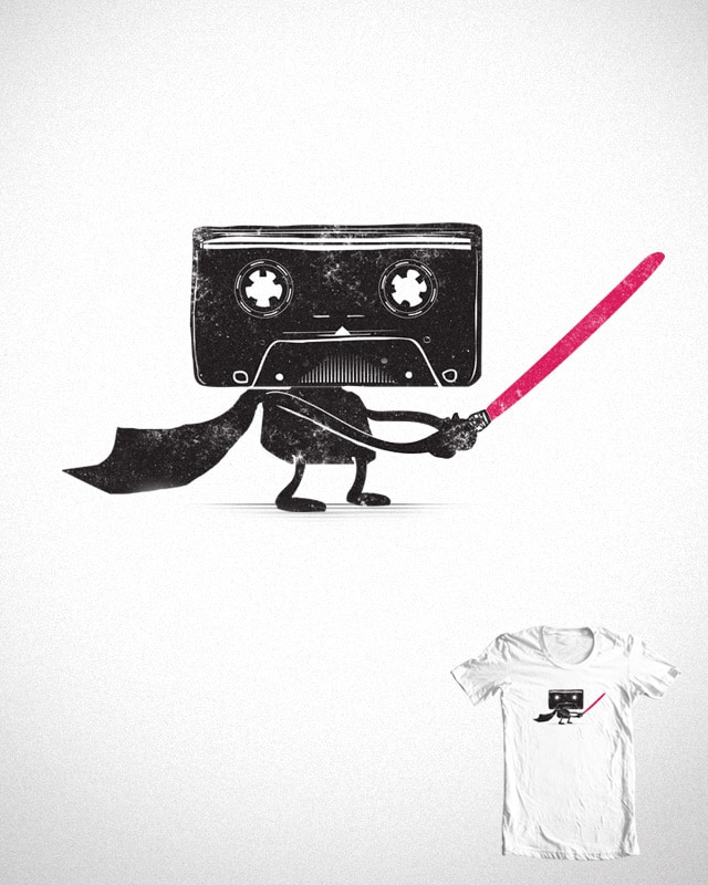 Media Wars: The Cassette Strikes Back by hisartwork on Threadless