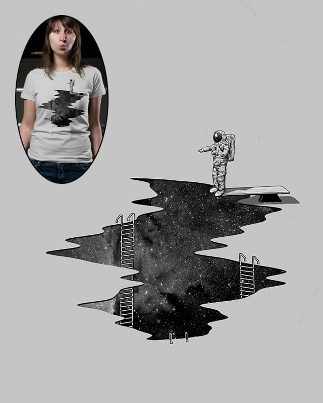 Space Diving by nicebleed on Threadless
