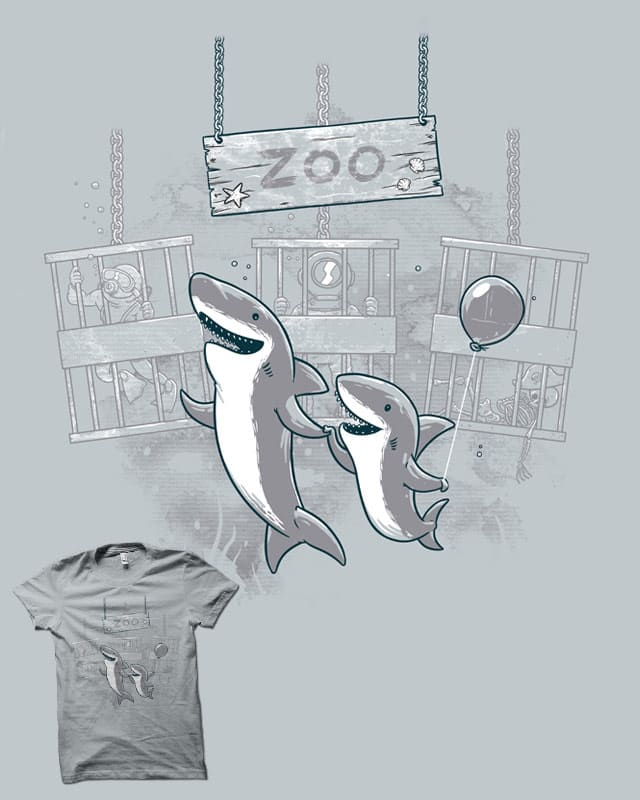 Shark Zoo by biotwist on Threadless