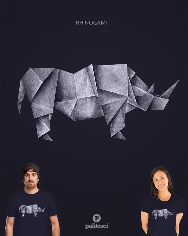Rhinogami by palitosci on Threadless