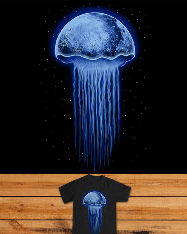 Moon Jellyfish by fathi on Threadless