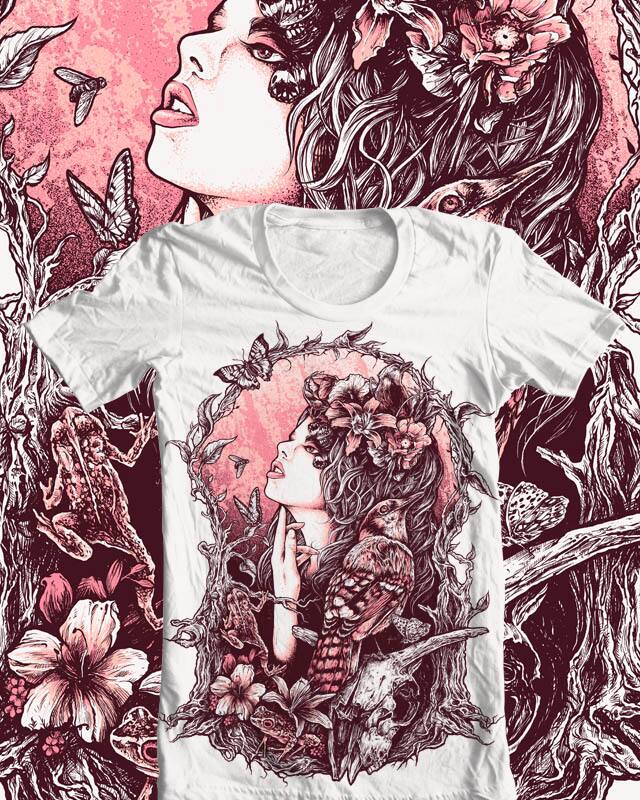 Natural Born Chaos by alexnorman on Threadless