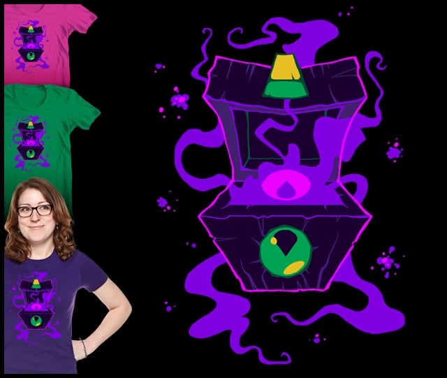 Gaze Into the Abyss by skippymoosh on Threadless