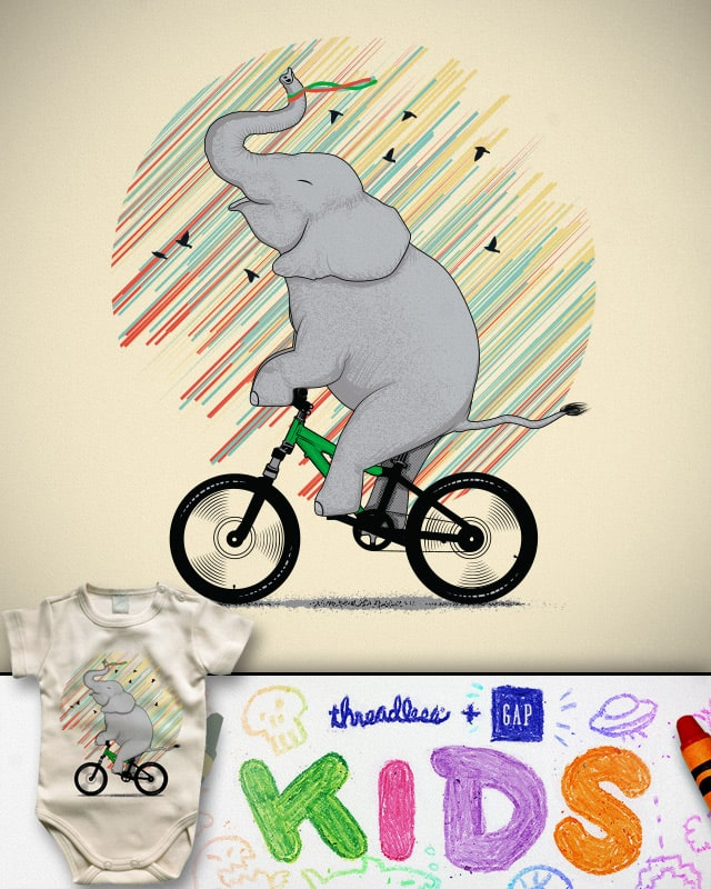 It's Like Riding a Bike by yurilobo on Threadless